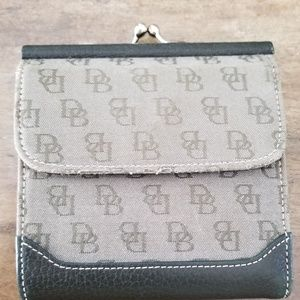Dooney and Borke Fold Over Wallet